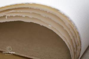 hand made paper edges