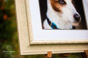 bespoke framed print close up