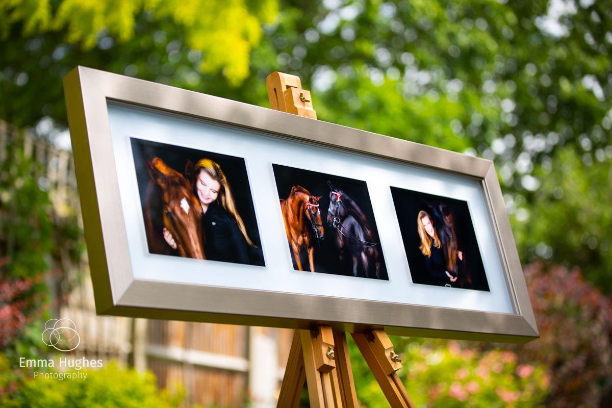 Clarity frame print