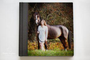 Acrylic cover photo album
